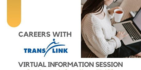 Newton WorkBC TransLink Virtual Info Session tickets