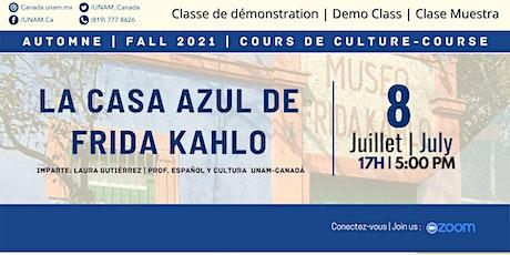 Clase muestra: Taller cultural La casa azul de Frida Kahlo ingressos