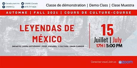 Clase muestra: Leyendas de México ingressos
