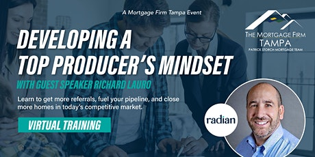 Developing a Top Producer's Mindset Tickets