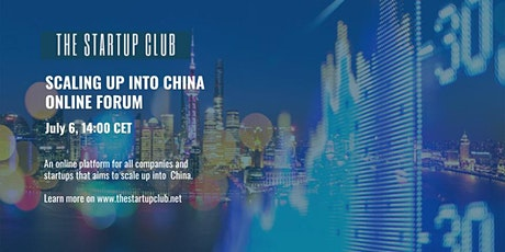 Scaling up into China Online Forum tickets