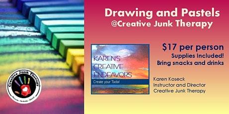 Drawing and Pastels tickets
