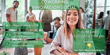 Co-Working Innovación Social entradas