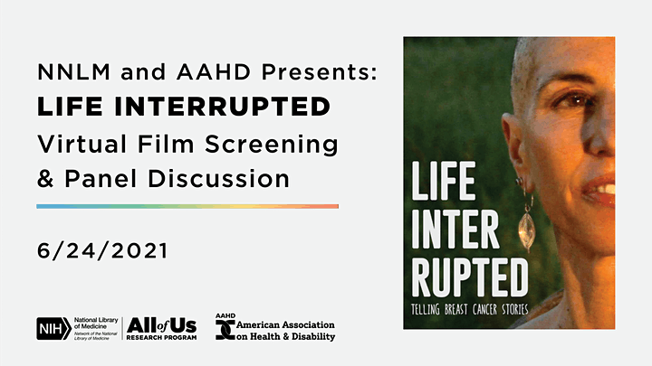 Life Interrupted Virtual Film Screening and Panel Discussion image
