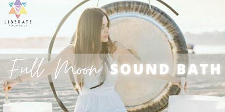 Full Moon Ambient Soundbath Meditation with Sahar tickets