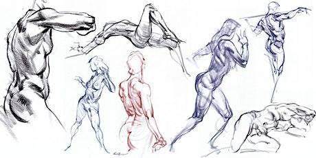 Karl Gnass' Figure Drawing School: Figure Drawing- Fundamentals to Advanced tickets
