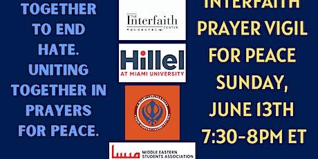 Interfaith Prayer Vigil for Peace tickets