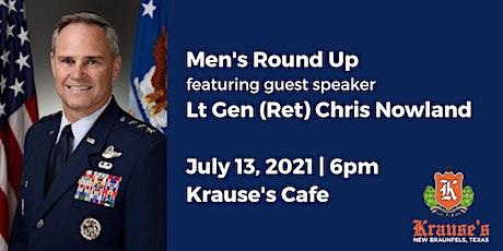 Men's Round Up - Guest Speaker Lt General (Ret) Chris Nowland tickets