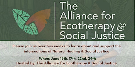 Ecotherapy & Social Justice Dialogues: EcoArt & Imagination as Tools tickets