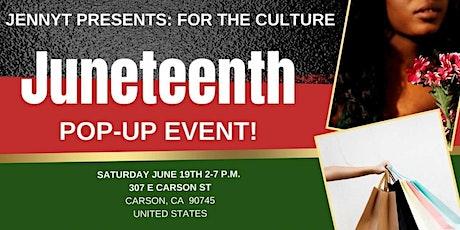 JennyT Juneteenth Pop-Up Event tickets