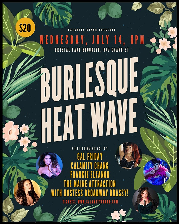 It's a Burlesque Heatwave at Crystal Lake Brooklyn! image