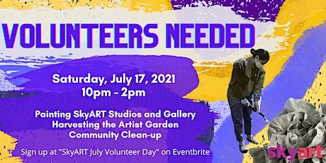 SkyART July Volunteer Day tickets
