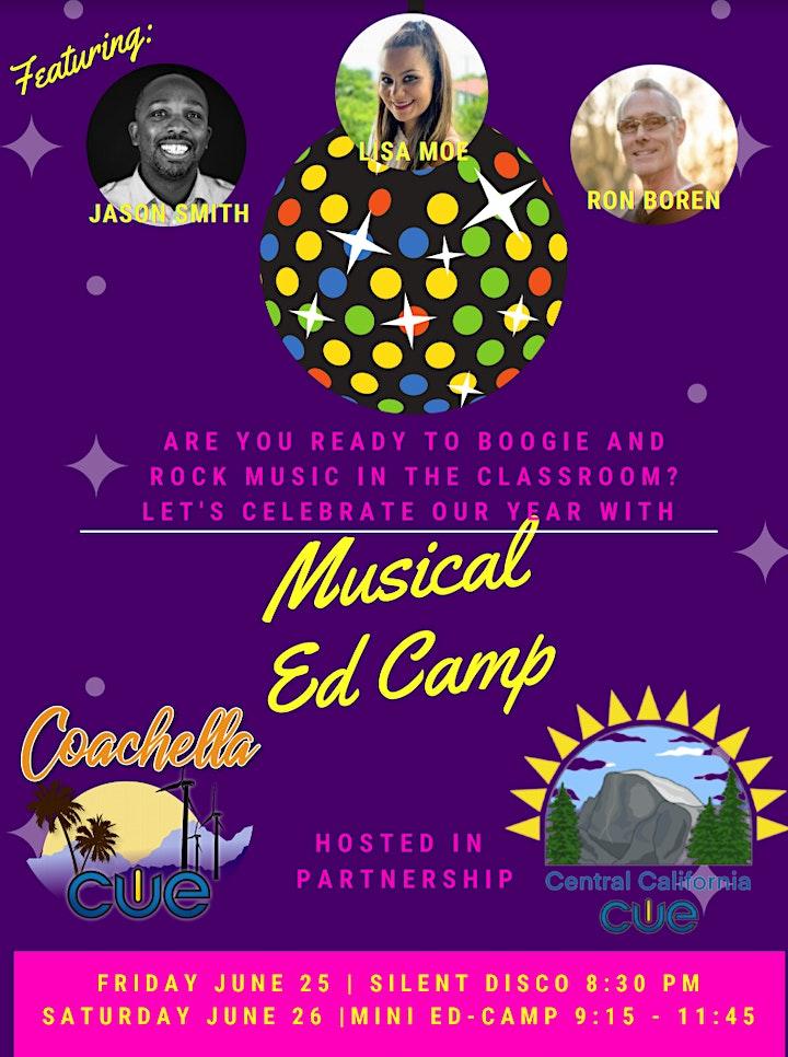 CC CUE & COACH CUE MUSICAL EDCAMP 2021 image