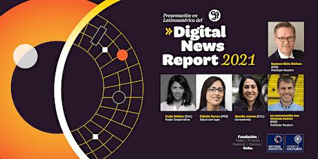 Presentación del Digital News Report 2021 entradas