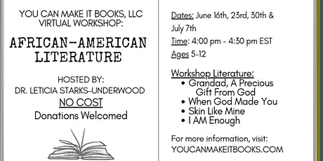 Virtual African-American Literature Workshop tickets