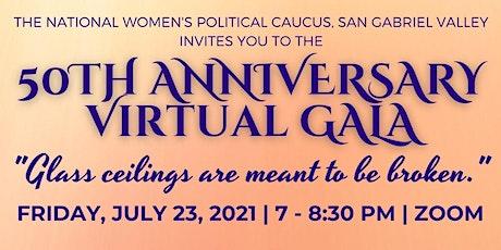 NWPC SGV 50th Anniversary Virtual Gala tickets