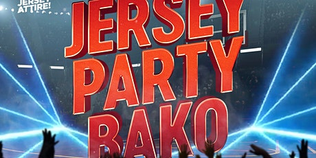 Jersey Party Bako tickets