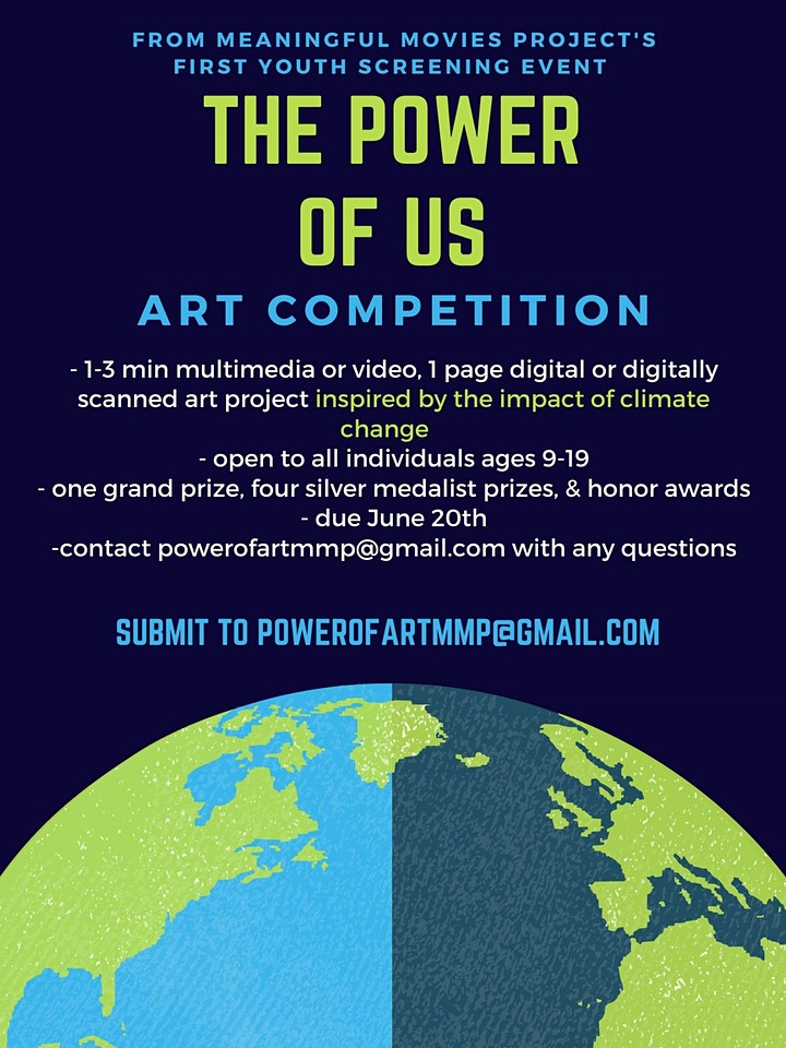 Power of Us: Screening,Youth-Led Community Discussion, & Art Competition image