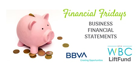 Financial Fridays: Business Financial Statements tickets