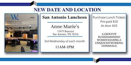WHW2N San Antonio Networking Luncheon tickets
