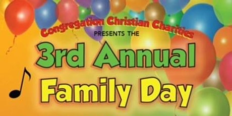Congregation Christian Charities host Family Day tickets