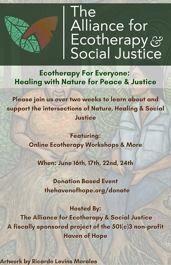 Ecotherapy & Social Justice Dialogues image