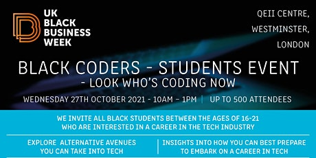 Black Coders -  Look Who's Coding Now (16-22 Years Only) tickets