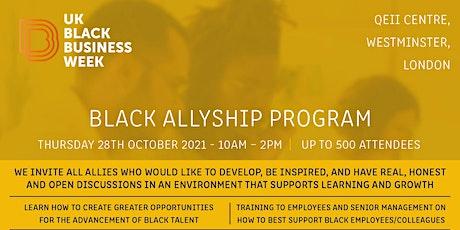 Black Allyship Program tickets