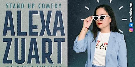 Alexa Zuart | Stand Up Comedy | San Luis Potosí boletos