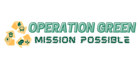 """Operation Green: Mission Possible - """"Eager Energizers"""" ONLINE tickets"""