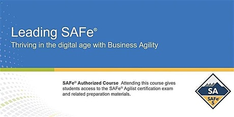 VIRTUAL ! Leading SAFe® 5.1 Certification Training tickets