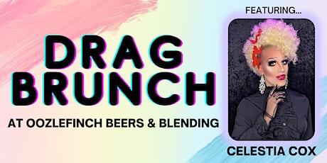 Drag Brunch at Oozlefinch Beers & Blending ft. Celestia Cox tickets