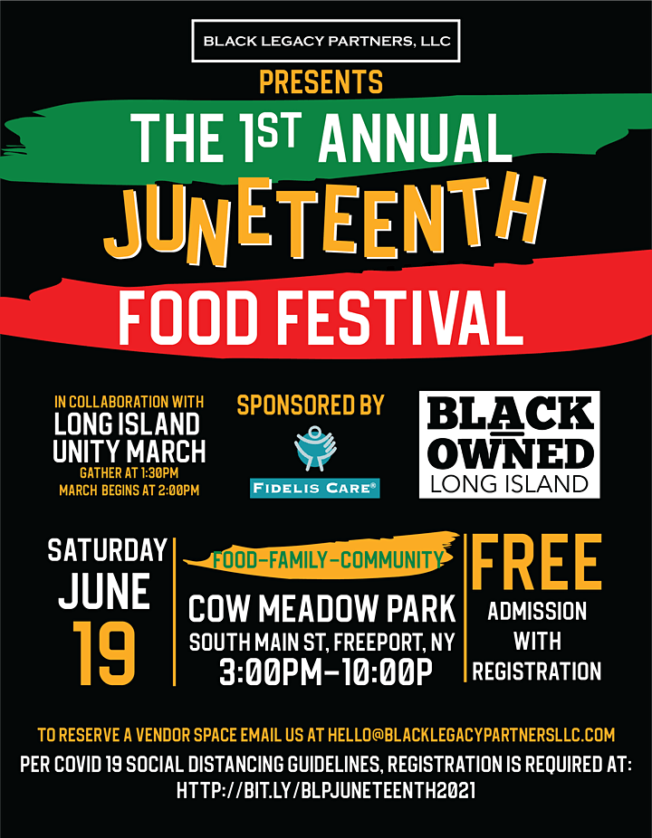 Black Legacy Partners Presents 1st Annual Juneteenth Food Festival image
