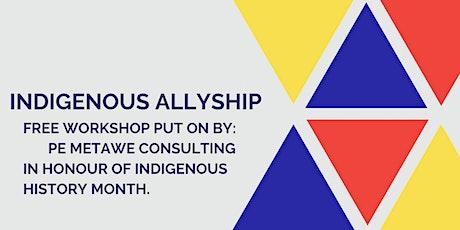 Indigenous Allyship Workshop tickets