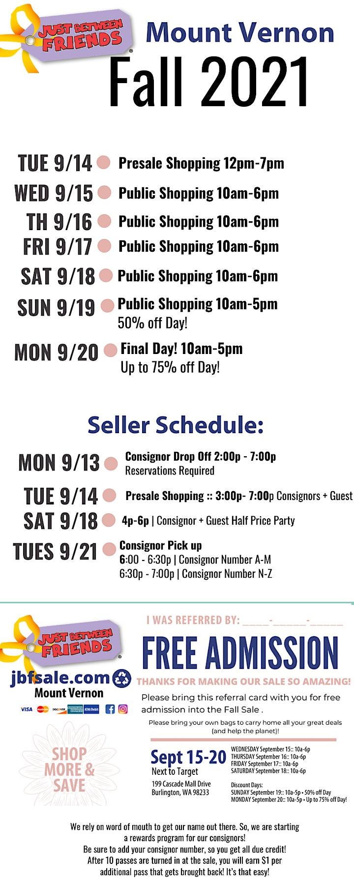 Huge Kids Consignment Pop-Up Shop! JBF Mount Vernon Fall 2021 image