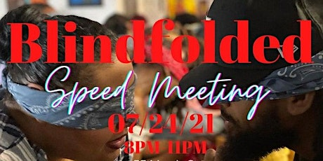 Blindfolded Speed Dating & Group Building Event tickets