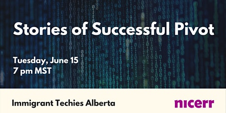 Stories of Successful Pivot - joint event with Nicerr tickets