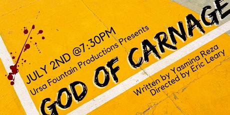 Ursa Fountain Production Presents GOD OF CARNAGE biglietti