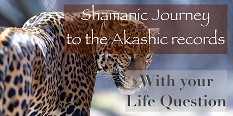 Shamanic Journey to the Akashic records with your life Question tickets
