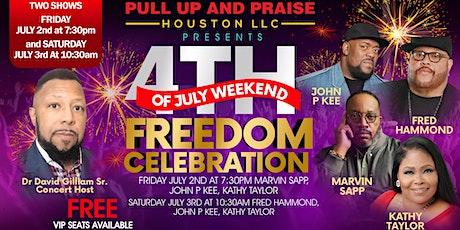 PULL UP AND PRAISE HOUSTON LLC FREEDOM CELEBRATION tickets