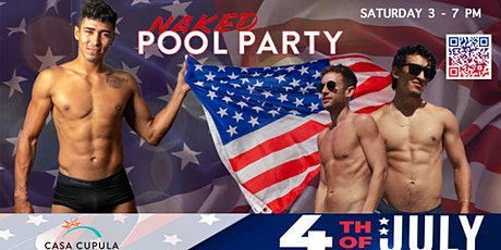 Jason Dottley´s Naked Pool Party at Casa Cu`pula tickets
