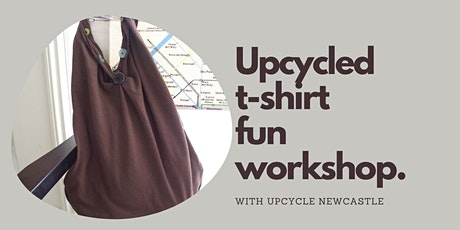 Upcycled t-shirt fun workshop  -Cessnock Library tickets