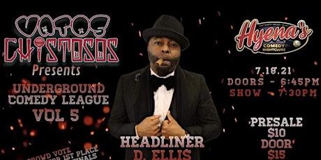 Underground Comedy League Vol 5 tickets