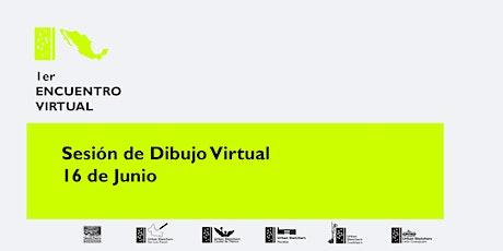 Dibujada Virtual entradas