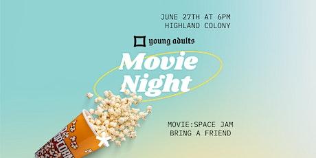 YA Movie Night tickets
