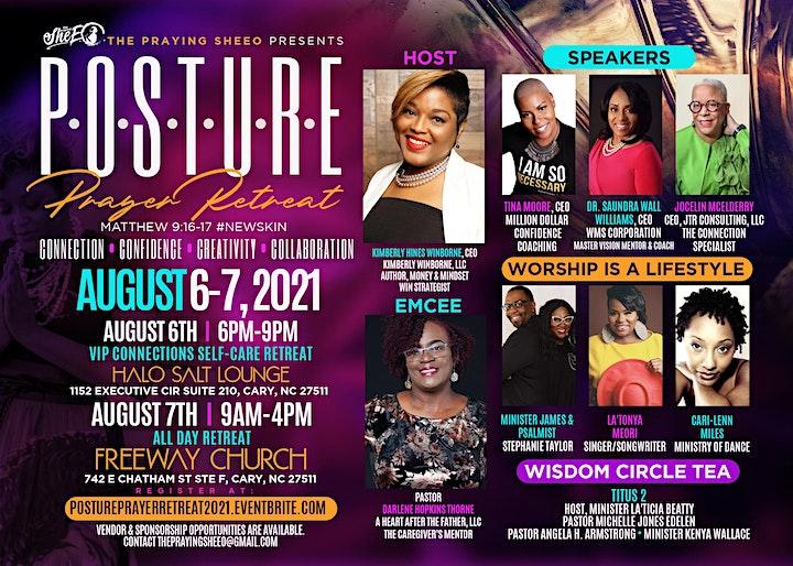 P.O.S.T.U.R.E. Prayer Retreat 2021! image