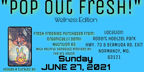 """""""POP OUT FRESH"""" tickets"""
