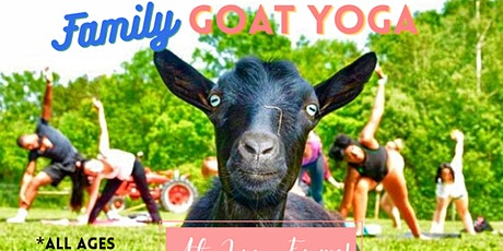 Family Goat Yoga at June Farms! tickets