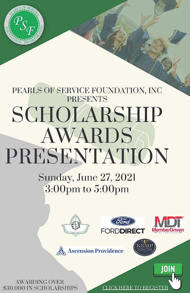 Pearls of Service Foundation, Inc. 2021 Scholarship Awards Presentation image