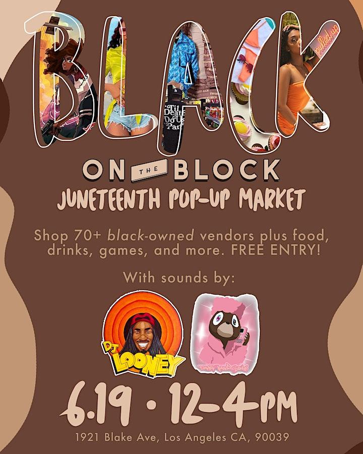 Black on the Block: Juneteenth Pop-Up Market image